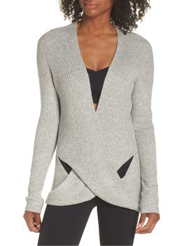 Wrap Sweater by Zella