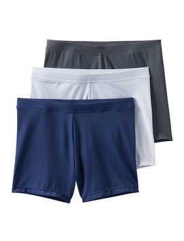 Girls 4 12 2 Pack + 1 Bonus Playground Pals Bike Shorts by Kohl's