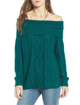 Off Shore Cable Knit Sweater by Billabong