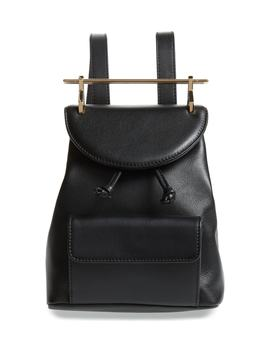Mini Calfskin Leather Backpack by M2 Malletier