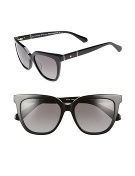 Kahli/S 53mm Polarized Retro Sunglasses by Kate Spade New York