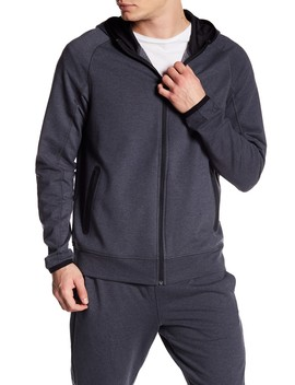 Active Fleece Full Zip Hoodie by Z By Zella