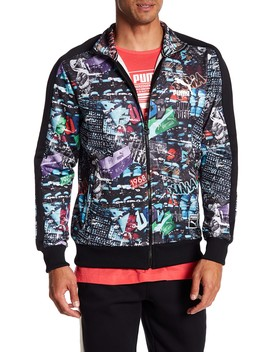 T7 Graffiti Track Jacket by Puma