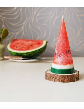 Watermelon Candle   Fake Fruit Candle   Party Kids Birthday Candle   Funny Scented Watermelon Candle   Tropical Candle   Hygge Home Decor by Etsy