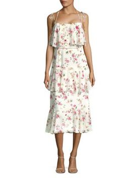 Floral Layered Dress by Wayf