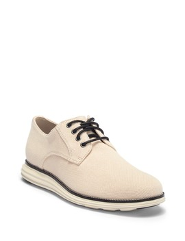 Original Grand Plain Toe Knit Derby by Cole Haan