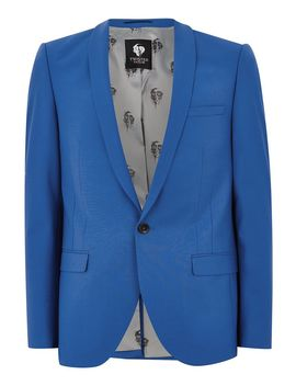 Twisted Tailor Blue 'ellroy' Blazer by Topman