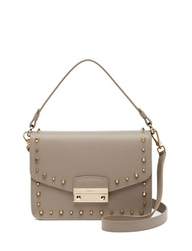Julia Studded Leather Shoulder Bag by Furla