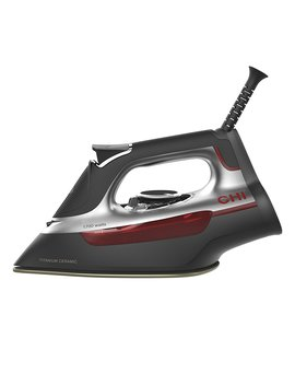 Chi (13101) Steam Iron With Titanium Infused Ceramic Soleplate & Over 300 Steam Holes, Professional Grade (13101) by Chi Steam