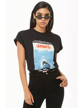 jaws-graphic-tee by forever-21