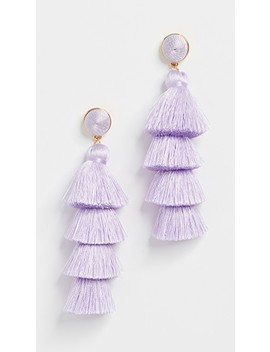 Tassel Earrings by Bauble Bar