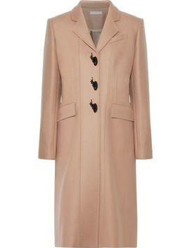 Embellished Wool Blend Twill Coat by J.W.Anderson