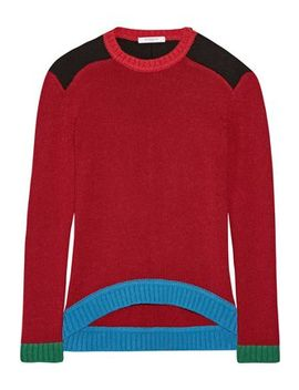 Color Block Wool Sweater by Givenchy