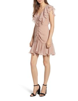 Danni Ruffle Mini Dress by Wayf