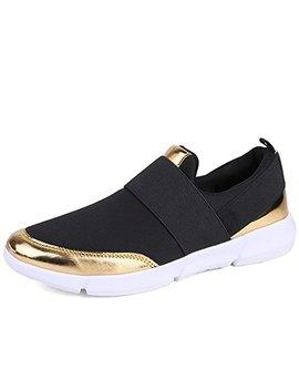Jtomoo Womens Slip On Sport Shoes by Jtomoo