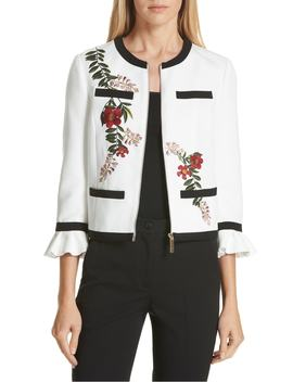 Aimmii Embroidered Jacket by Ted Baker London
