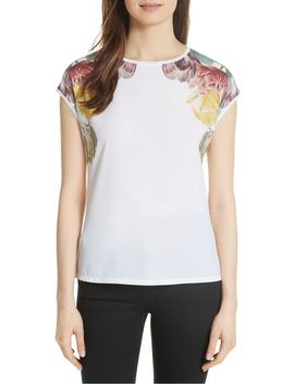 Anee Tranquility Woven Front Top by Ted Baker London