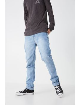 Slim Tapered Denim Jeans by Cotton On