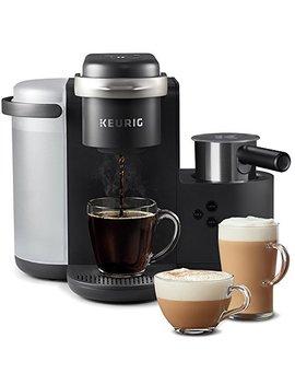 Keurig K Cafe Single Serve K Cup Coffee Maker + Milk Frother, Dark Charcoal by Keurig
