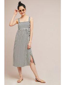 Fiona Striped Midi Dress by Maeve