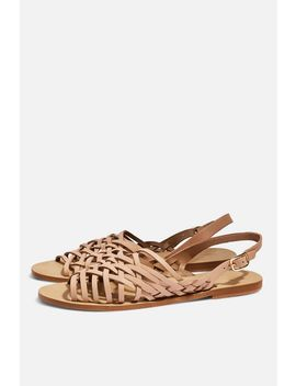 Hoxford Woven Sandals by Topshop
