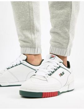 Fila Targo Trainers In White by Fila