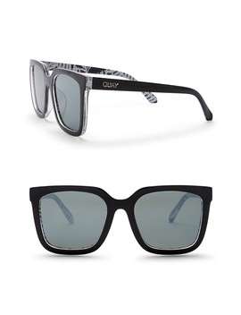 Genesis 55mm Retro Sunglasses by Quay Australia