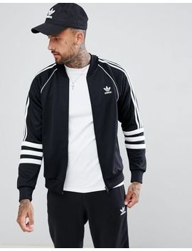 Adidas Originals Authentic Superstar Track Jacket In Black Dj2856 by Adidas Originals