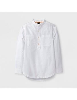 Boys' Long Sleeve Button Down Shirt   Art Class™ White by Art Class™