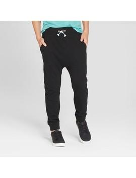 Boys' Jogger Pants   Cat & Jack™ Black by Cat & Jack™