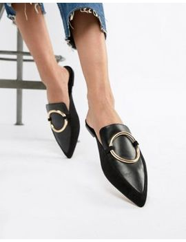 Asos Design Loyalty Mule Ballet Flats by Asos Design