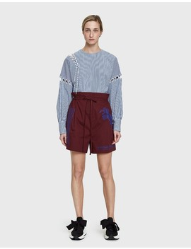 Maurice Pop Embroidered Short by Acne Studios