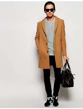 Selected Homme Cashmere Overcoat by Selected Homme