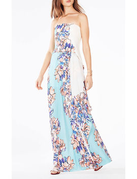 Grace Floral Print Maxi Dress by Bcbgmaxazria