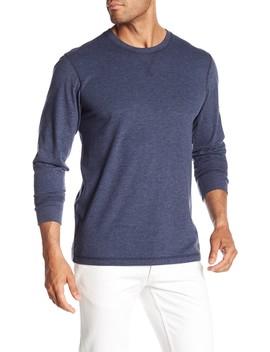 Long Sleeve Crew Neck Sweatshirt by Faherty Brand