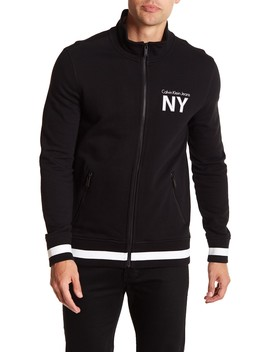 Athletic Collage Full Zip Jacket by Calvin Klein