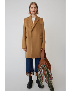 Single Breasted Jacket Camel Brown by Acne Studios