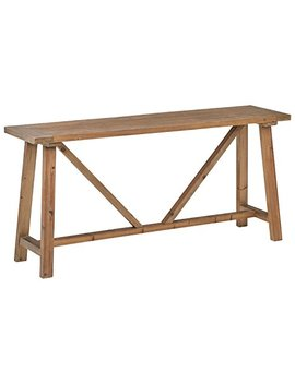"Stone & Beam Standard Farmhouse Console Table, 70.9"" W, Wood by Stone & Beam"