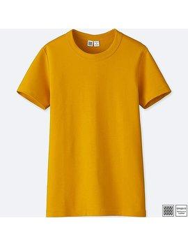 Damen U 100% Baumwoll T Shirt by Uniqlo