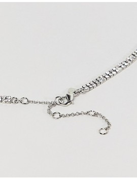 Aldo Silver Embellished Occasion Necklace by Aldo