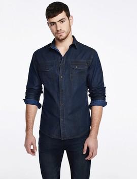 חולצת ג'ינס נייבי by Castro