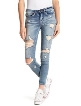 Reade Destroyed Skinny Jeans by Blanknyc