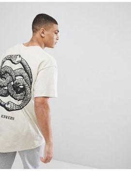 Camiseta Con Estampado De Serpiente Anudado Y Extragrande En La Parte Posterior De Hnr Ldn by Asos