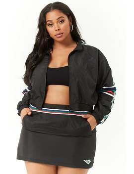 Plus Size Pony Mini Skirt by Forever 21