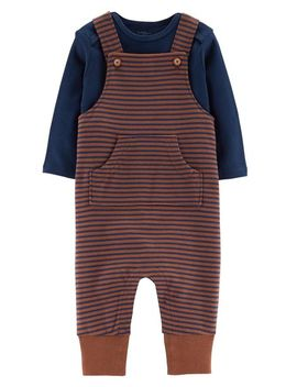 2 Piece Certified Organic Coverall Set by Carter's