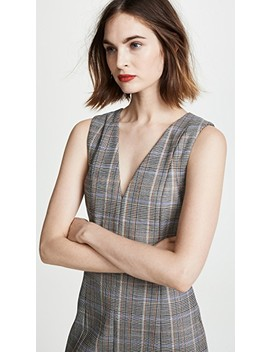 Easy V Shift Dress by Theory