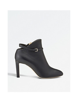 Tor 85 Leather Ankle Boots by Jimmy Choo