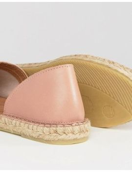 Pieces – Jasha Blush – 2 Teilige Espadrilles Aus Wildleder by Pieces