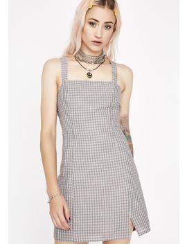 Plaid Zaddy Mini Dress by Wild Honey
