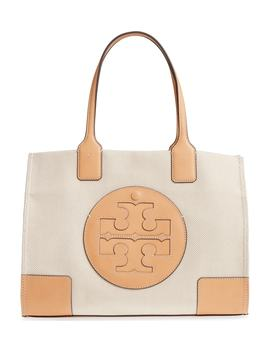 Mini Ella Canvas Tote by Tory Burch